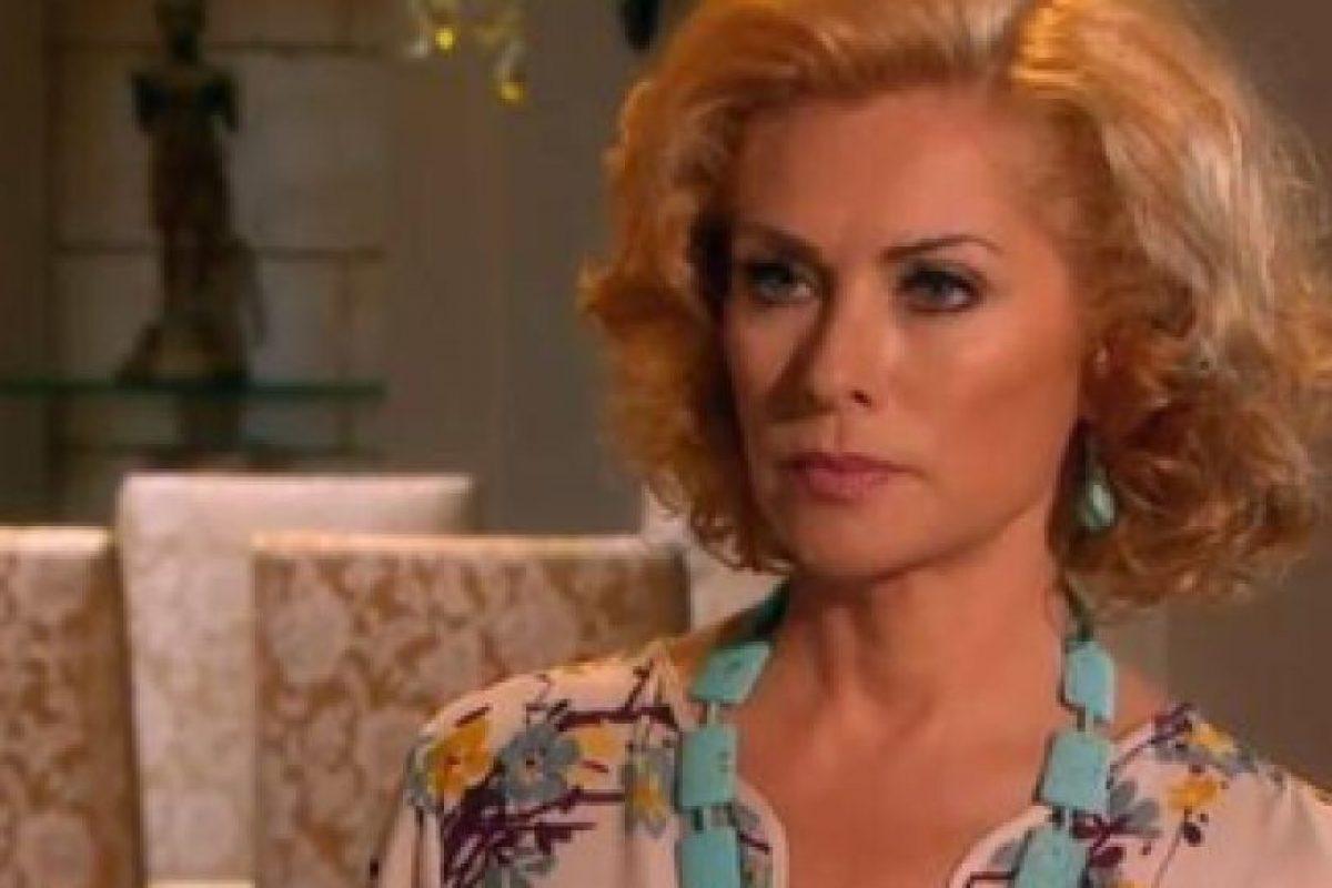 Así se le ve en su última telenovela. Foto:vía Twitter. Imagen Por: