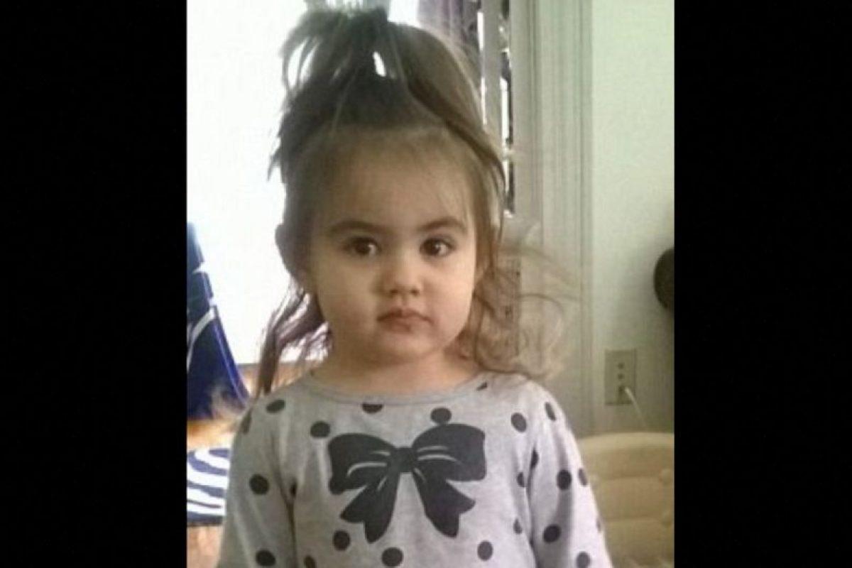 Se llamaba Bella Bond. Fue asesinada a los dos años y medio. Foto:Vía Facebook. Imagen Por:
