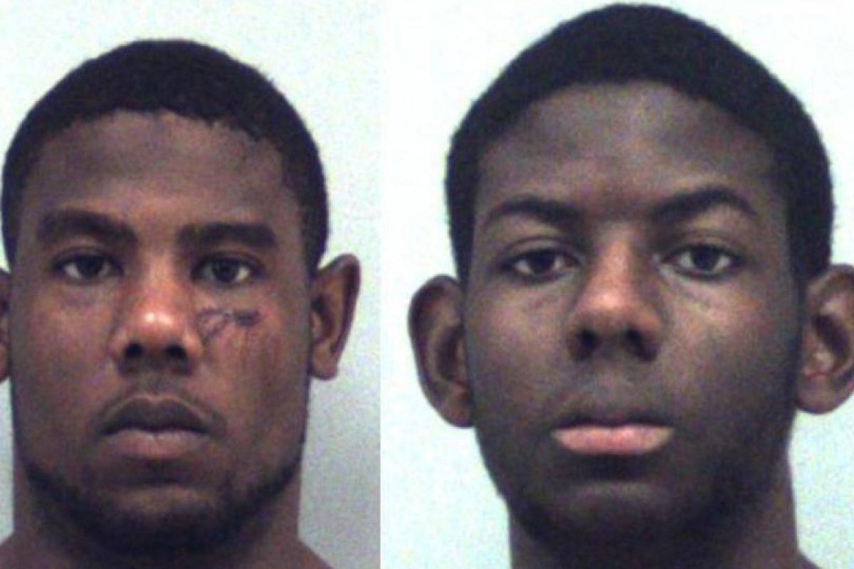 Ambos estaban drogados y atacarona su padre. Las autoridades afirmaron que los dos querían quemar la casa. Foto:Vía Georgia Detention Center. Imagen Por: