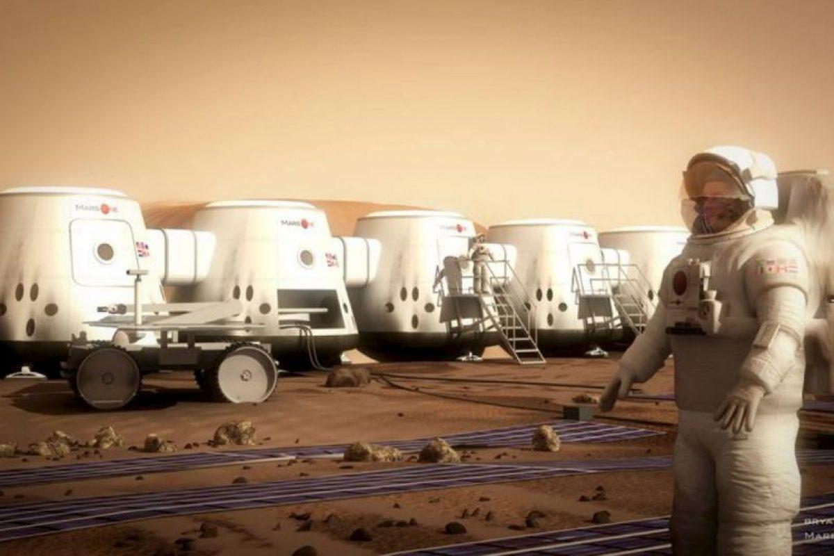 Poner las primeras cuatro personas en Marte costará 6 mil millones de dólares. Foto:Vía facebook.com/MarsOneProject. Imagen Por: