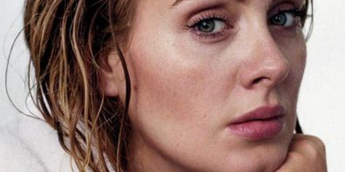 Adele posa sin maquillaje para la revista