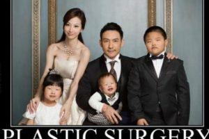 Supuestamente, un marido chino demandó a su mujer porque sus hijos salieron feos. Foto:vía Tumblr. Imagen Por: