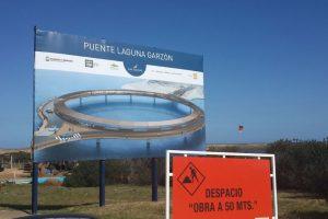 """De acuerdo con el diario uruguayo """"El País"""", la entrega del Puente Laguna Garzón está programada para el 22 de diciembre. Foto:Vía facebook.com/lagunagarzon. Imagen Por:"""