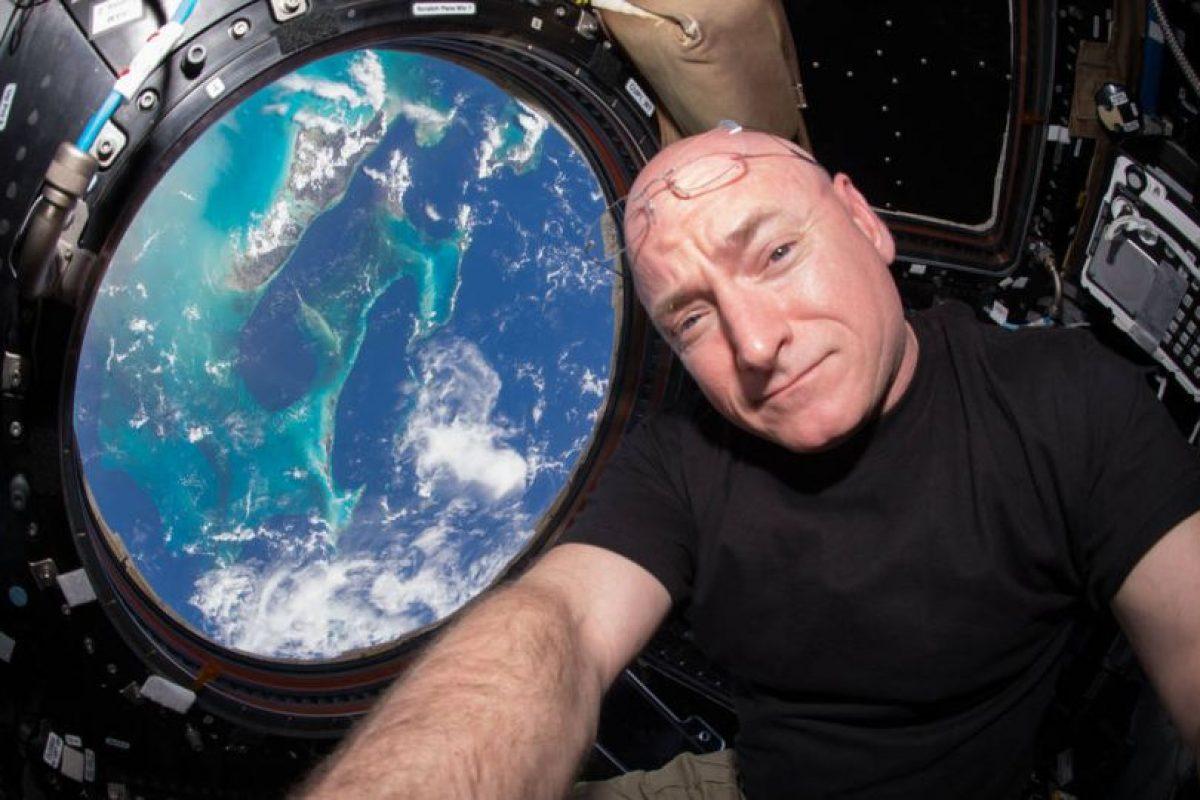El astronauta Scott Kelly realiza una misión espacial de más de un año en la Estación Espacial Internacional. Foto:Vía nasa.gov. Imagen Por: