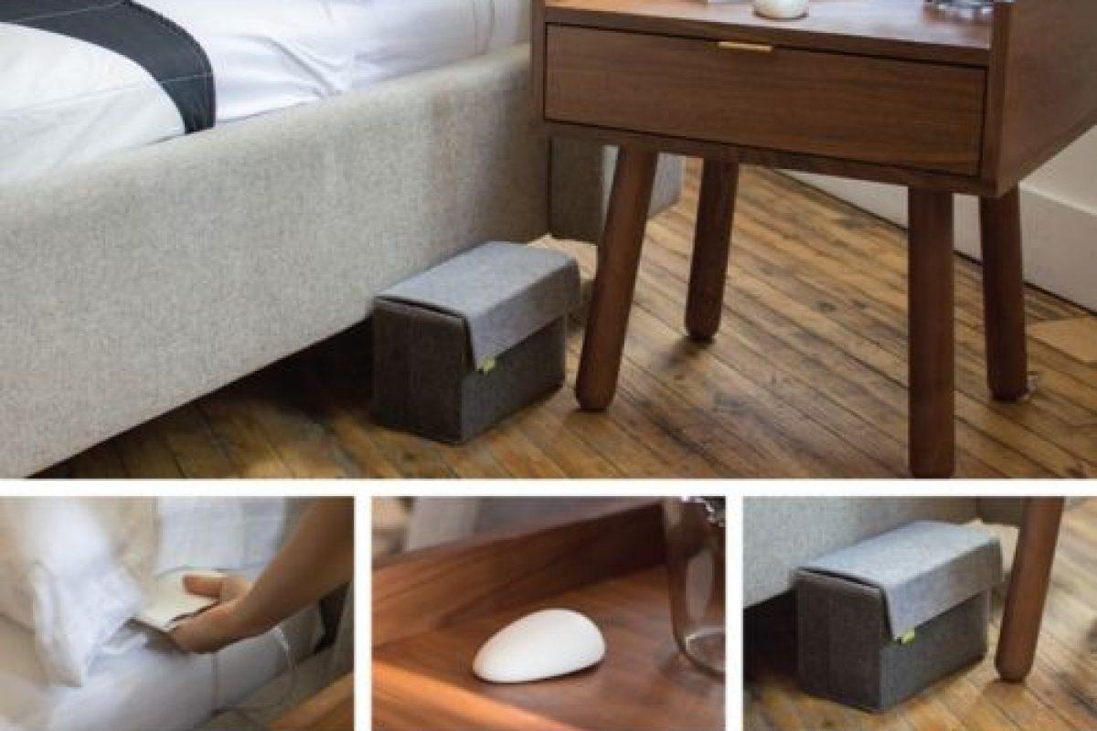 Puede colocarse en muchos lugares de la habitación. Foto: Smart Nora Inc.. Imagen Por:
