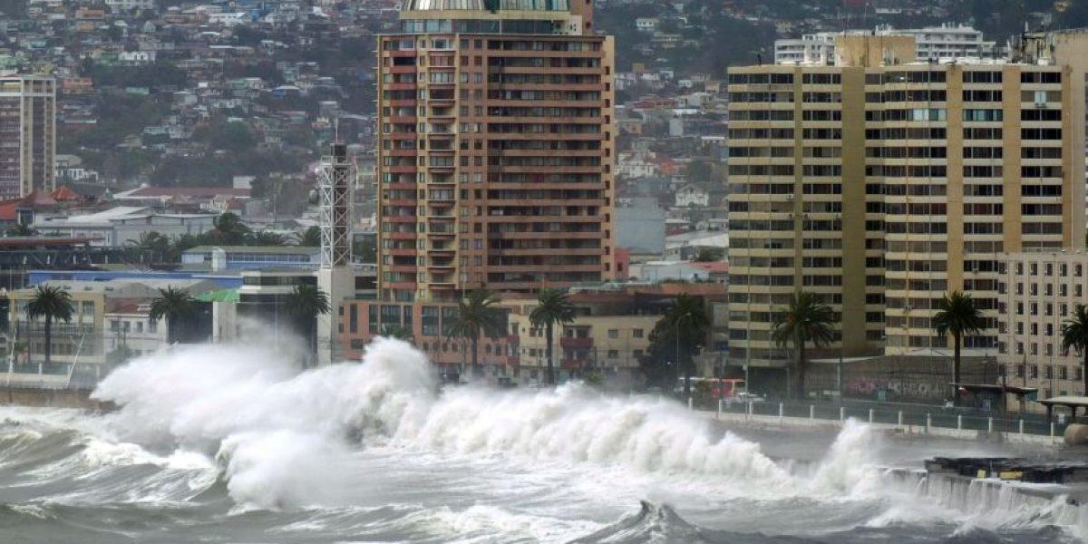 Armada alerta fuertes marejadas en las costas del país para esta semana
