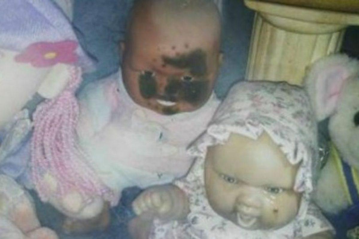 La ahora afamada muñeca que llora, de acuerdo a testigos. Foto:Reproducción. Imagen Por: