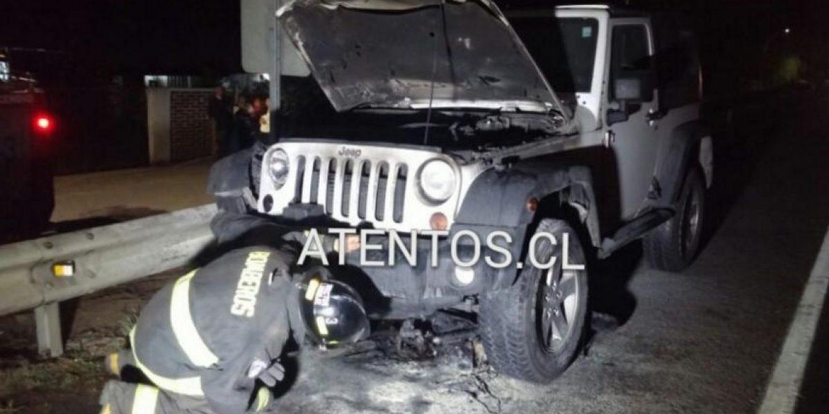 Jóvenes fallecen tras choque entre Jeep y moto en San Javier