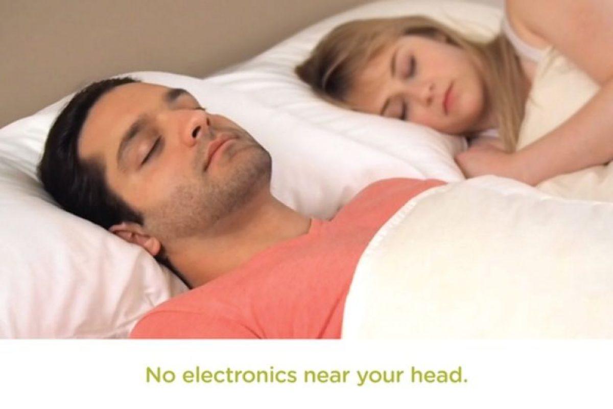 Ni dormir en posiciones específicas. Foto: Smart Nora Inc.. Imagen Por:
