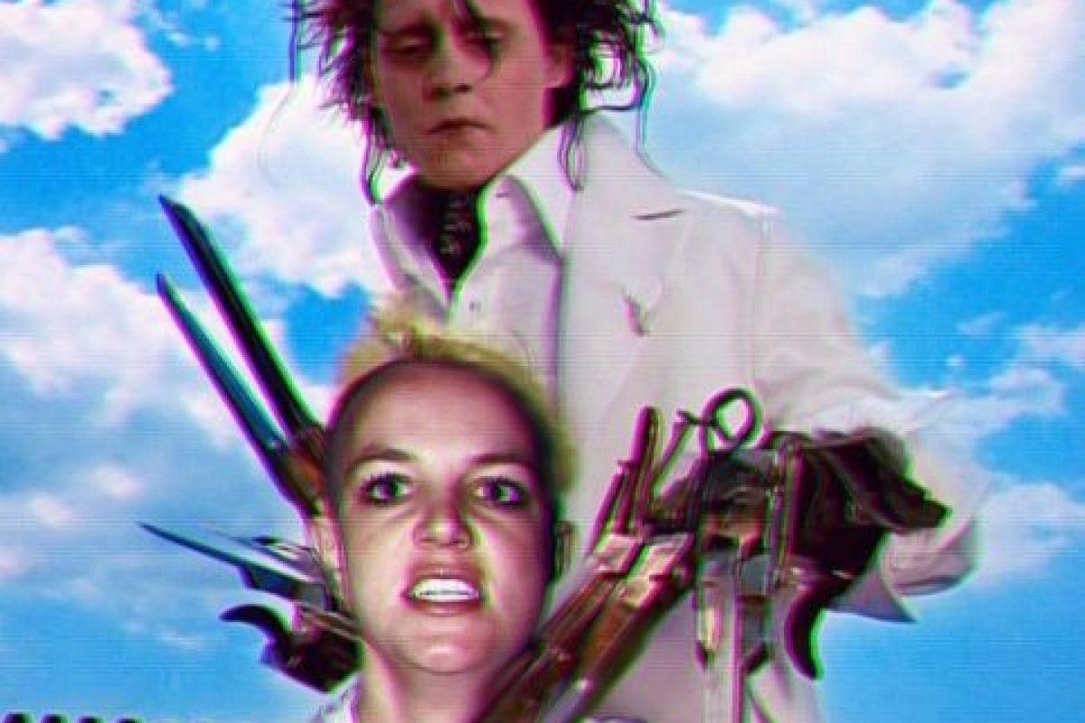 Y polémicas celebridades como Britney Spears Foto:vía instagram.com/sainthoax. Imagen Por:
