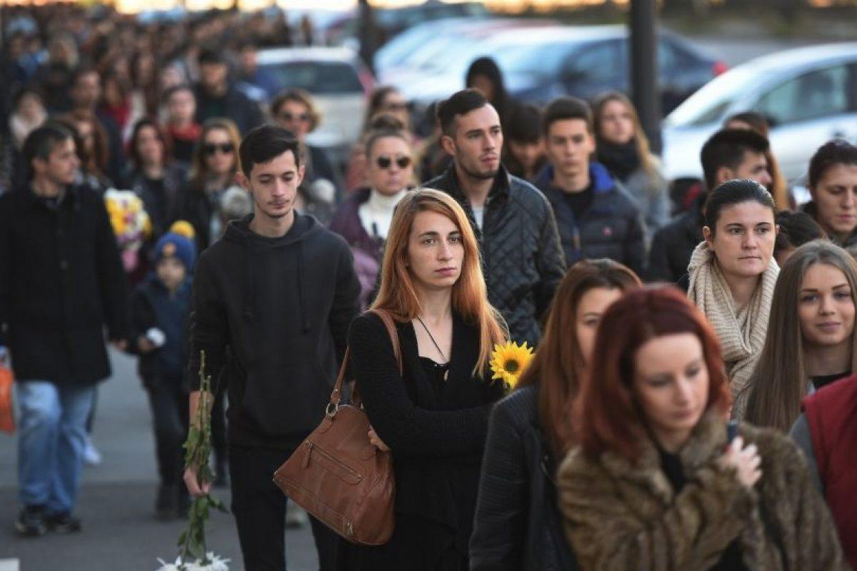 El cual dejó como saldo al menos 30 muertos. Foto:AFP. Imagen Por: