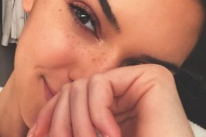 Así luce sin maquillaje Foto:vía instagram.com/kendalljenner. Imagen Por: