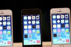 iPhone 5s (2013). Foto:Getty Images. Imagen Por: