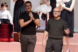 """Ambos son dueños de la compañía """"Dolce & Gabbana"""" Foto:Getty Images. Imagen Por:"""