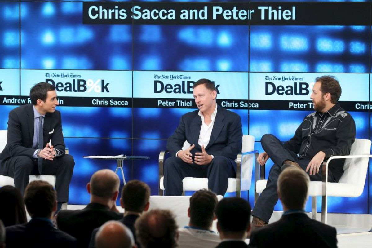 2. Peter Thiel (#234 en la lista de los más ricos del mundo) Foto:Getty Images. Imagen Por: