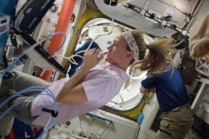 Karen Nyberg fue la ingeniera del vuelo en la expedición 36 Foto:Vía nasa.gov. Imagen Por: