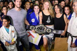 Es la máxima referente de la UFC Foto:Getty Images. Imagen Por: