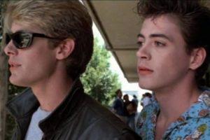 Aquí, en los 80 con James Spader. Foto:vía Facebook/Robert Downey Jr.. Imagen Por: