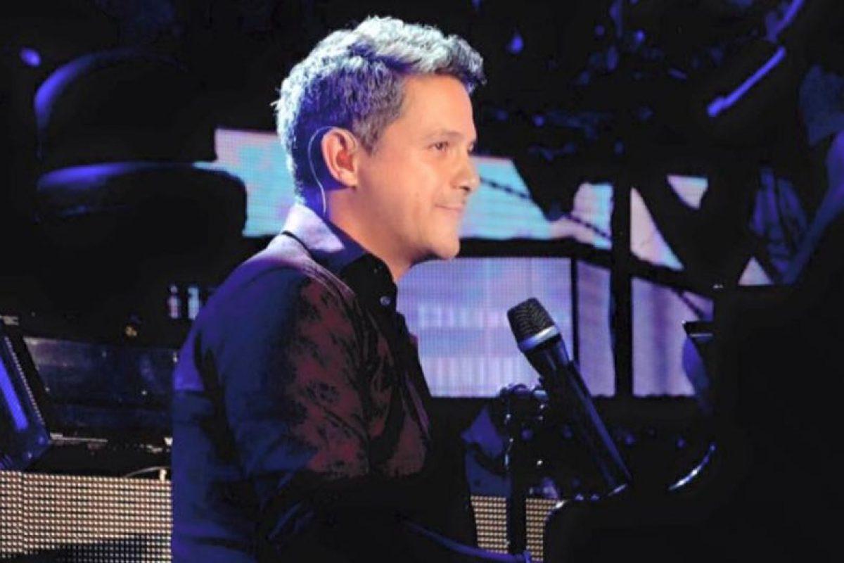 Así se ve el cantautor español. Foto:vía Facebook/Alejandro Sanz. Imagen Por:
