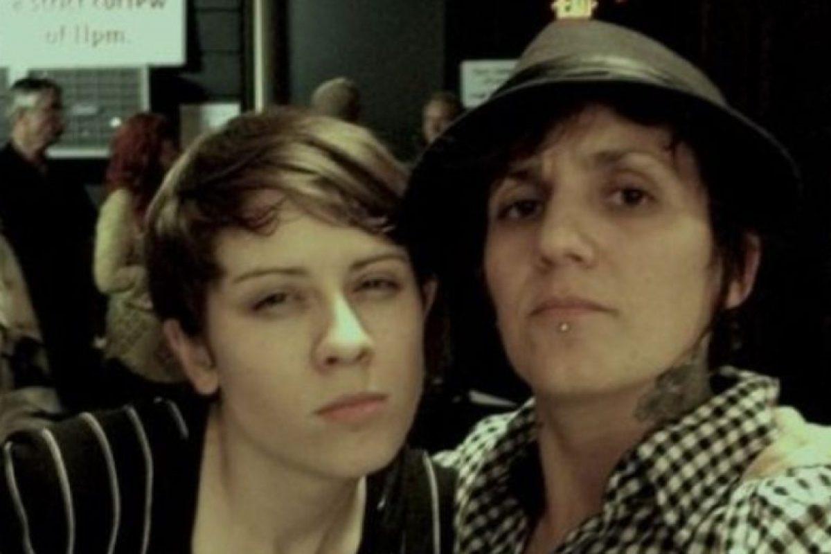 5. Lucas Silveira –la mujer de la derecha con el sombrero fedora– vivió siendo lesbiana durante muchos años. Foto:Vía Twitter. Imagen Por: