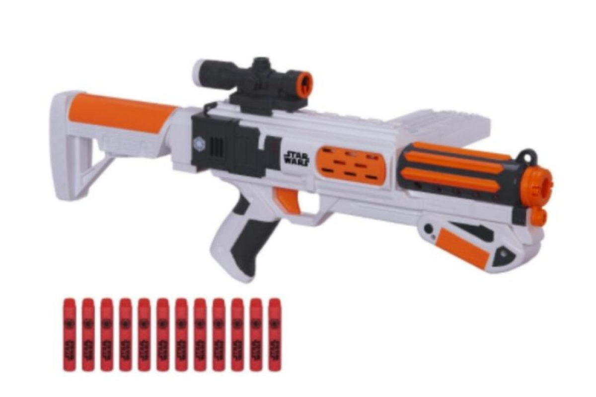 Pistola Nerf de Stormtrooper de la Primer Orden Foto: NERF. Imagen Por:
