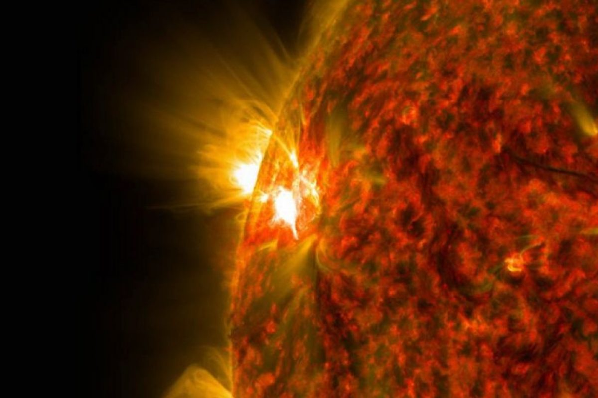 3. Los científicos han indicado que las probabilidades de que en 2022 haya una tormenta solar son de un 12%. Foto:Vía Nasa.gov. Imagen Por: