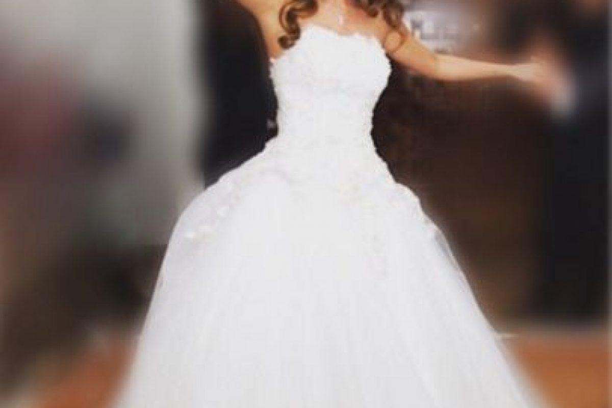 Así lució hace unos meses en su boda. Foto:Vía instagram.com/anahi/. Imagen Por: