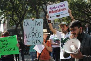 En respuesta al fallo de los ministros Foto:Nicolás Corte/Publimetro. Imagen Por: