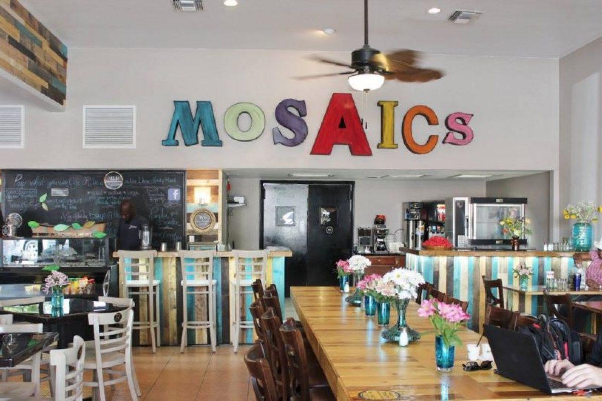 """El restaurante """"Mosaic Community Cafe"""" se abrió al público el martes. Foto:Vía facebook.com/mosaicscommunitycafe. Imagen Por:"""