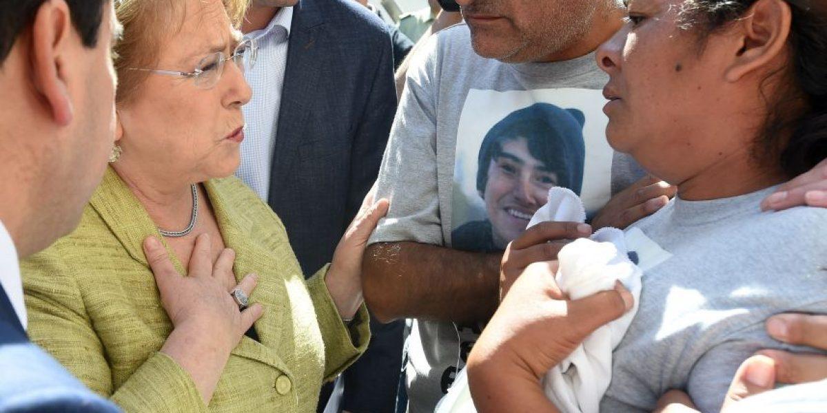 Bachelet anuncia millonario plan de reconstrucción para Atacama