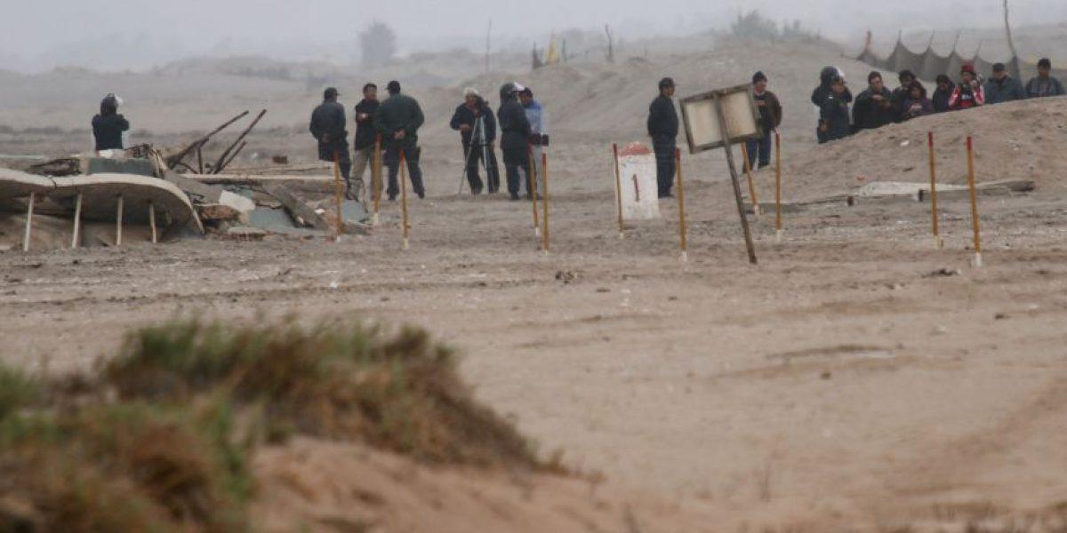 Gobierno despachó dos notas de protesta a Perú tras presencia militar en el Hito 1
