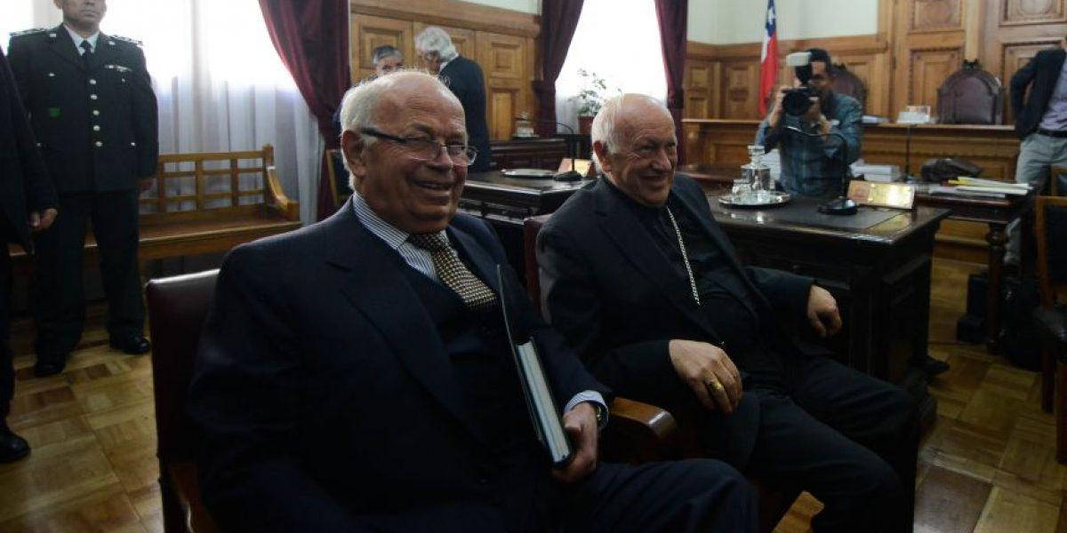 Caso Karadima: Ezzati declaró por dos horas y descartó encubrimiento de la Iglesia