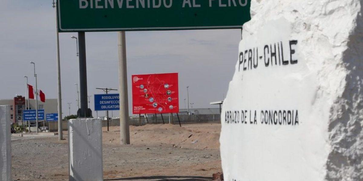 Burgos y presencia de militares peruanos en Hito 1: