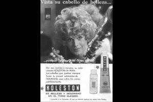 Publicidad de Koleston Foto:Captura Revista Ecran. Imagen Por: