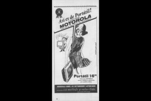 Publicidad de Motorola Foto:Captura Revista Ecran. Imagen Por: