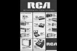 Publicidad de RCA Foto:Captura Revista Ecran. Imagen Por: