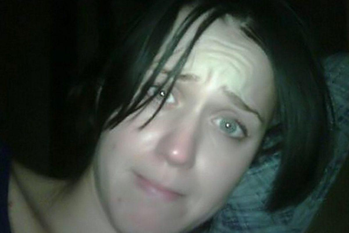 El actor reveló esta imagen de su exesposa, Katy Perry, sin maquillaje. Foto:vía twitter.com/rustyrockets. Imagen Por: