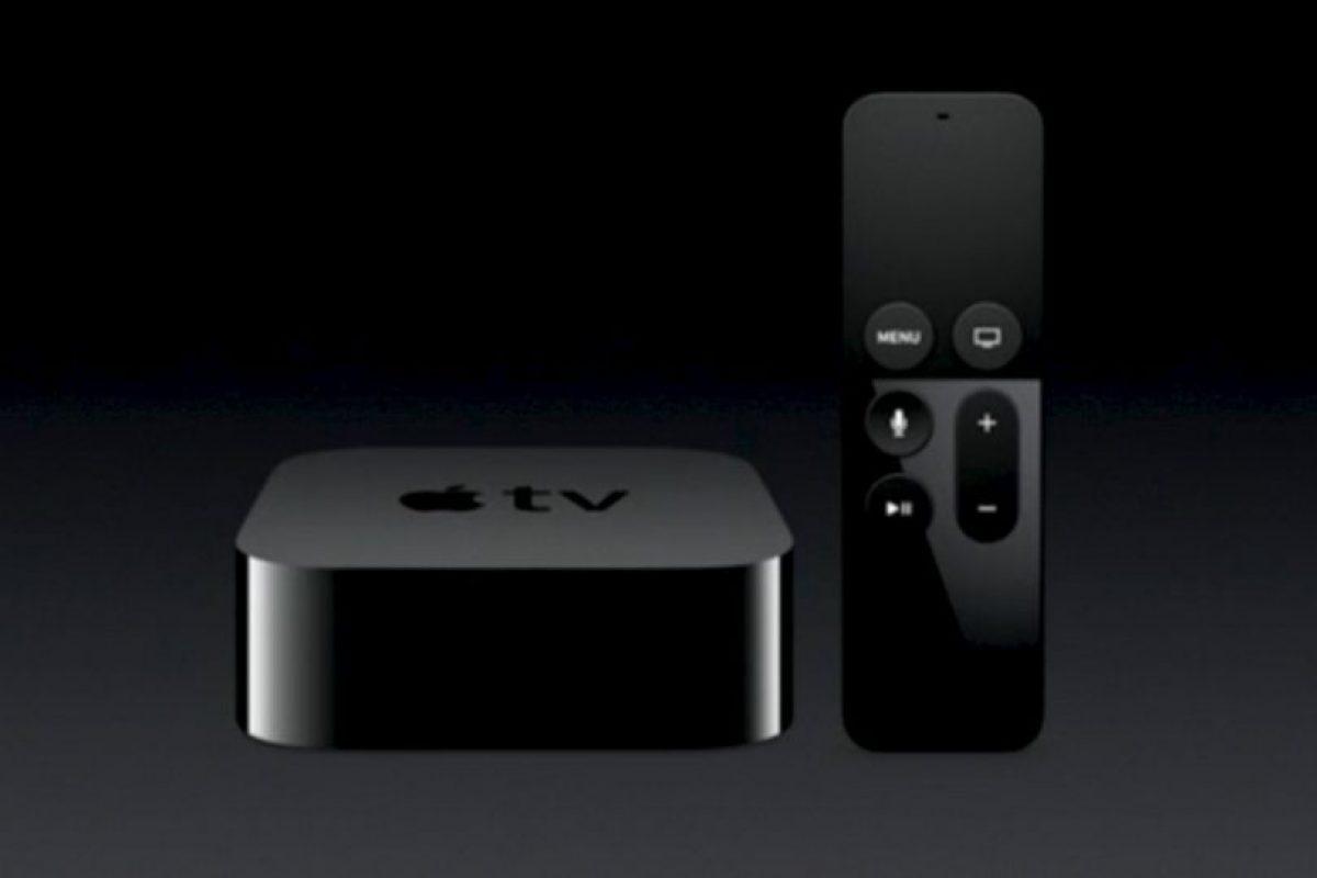 El nuevo Apple TV fue presentado el 9 de septiembre. Foto:Apple. Imagen Por: