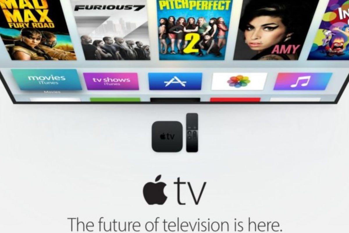 Apple TV se promociona como el futuro de la televisión. Foto:Apple. Imagen Por: