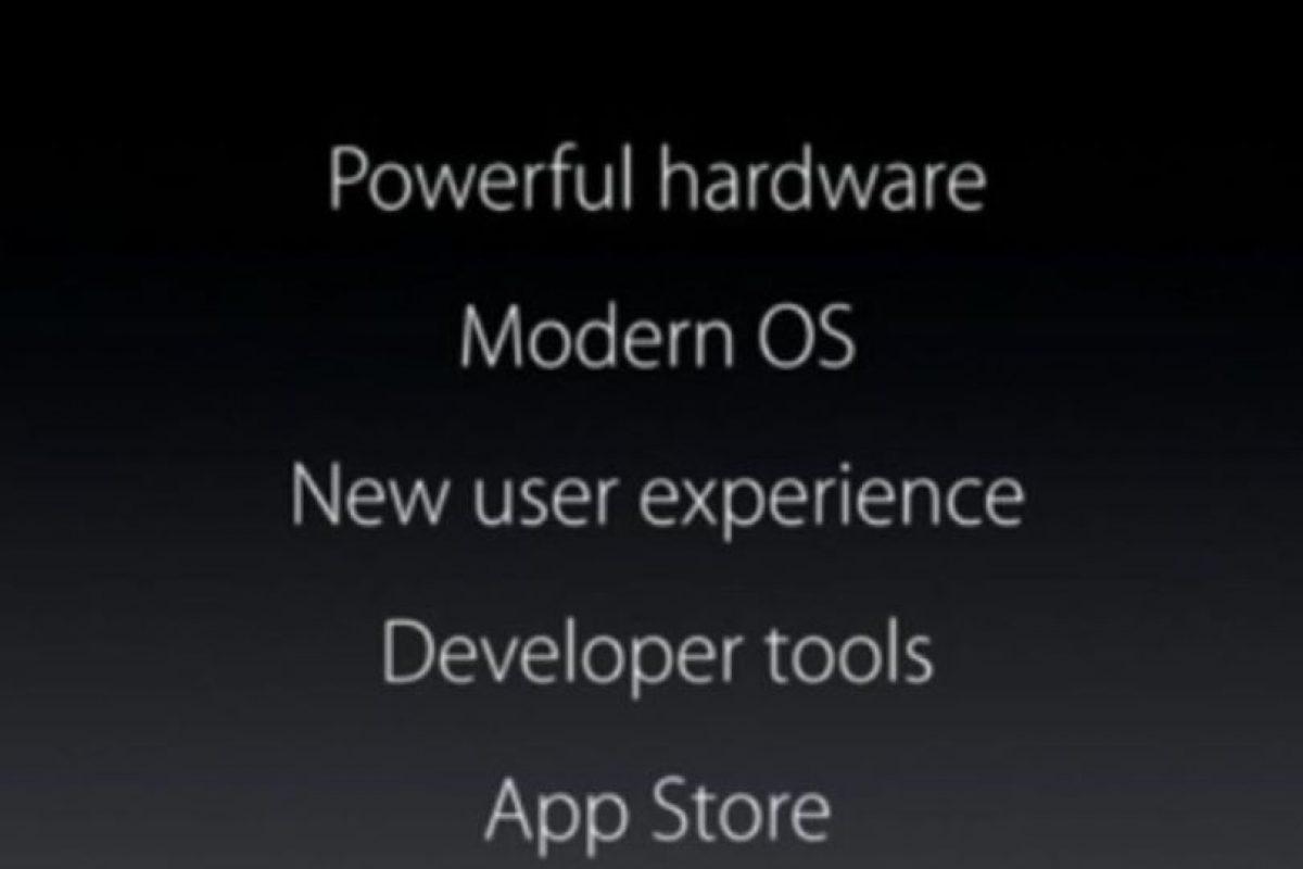Novedades del sistema. Foto:Apple. Imagen Por: