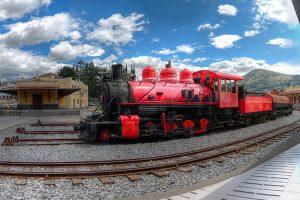 Chimbacalle, la casa del tren ecuatoriano, ofrece un viaje en tren con la oportunidad de observar la avenida de los volcanes en los Andes ecuatorianos Foto:Vía quito.com.ec. Imagen Por: