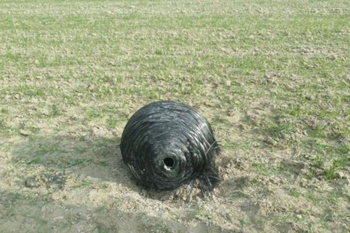 El extraño objeto que cayó en España Foto:Guardia Civil. Imagen Por: