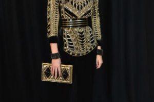 Diseños Balmain que modela Kendall Jenner Foto:Getty Images. Imagen Por: