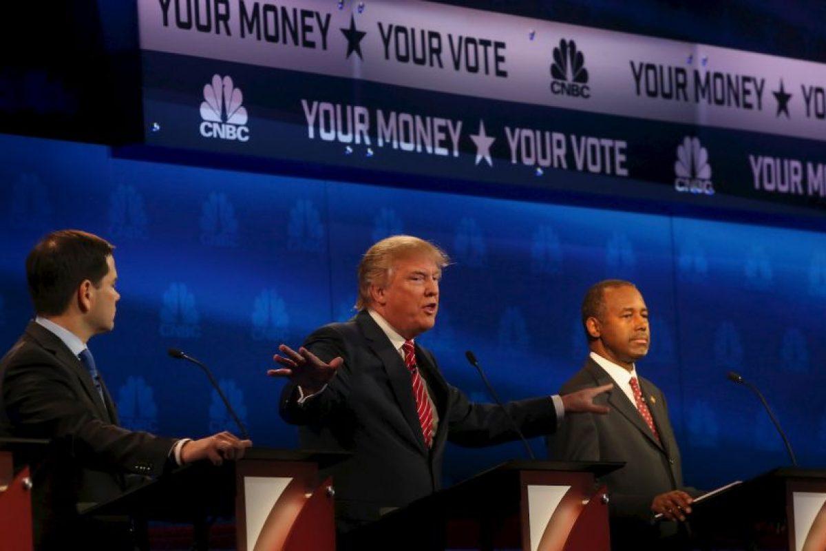 """Jeb Bush le pidió al senador de Florida Marco Rubio que renunciara a su puesto, a lo que el cubanoamericano le contestó: """"alguien te ha dicho que atacándome te vas a beneficiar"""". Foto:Getty Images. Imagen Por:"""