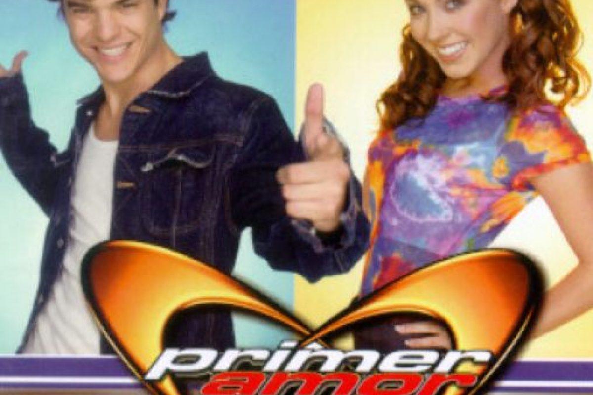 """""""Primer amor a mil por hora"""", fue una serie juvenil que se transmitió desde 1999 hasta 2001. Foto:vía Televisa. Imagen Por:"""