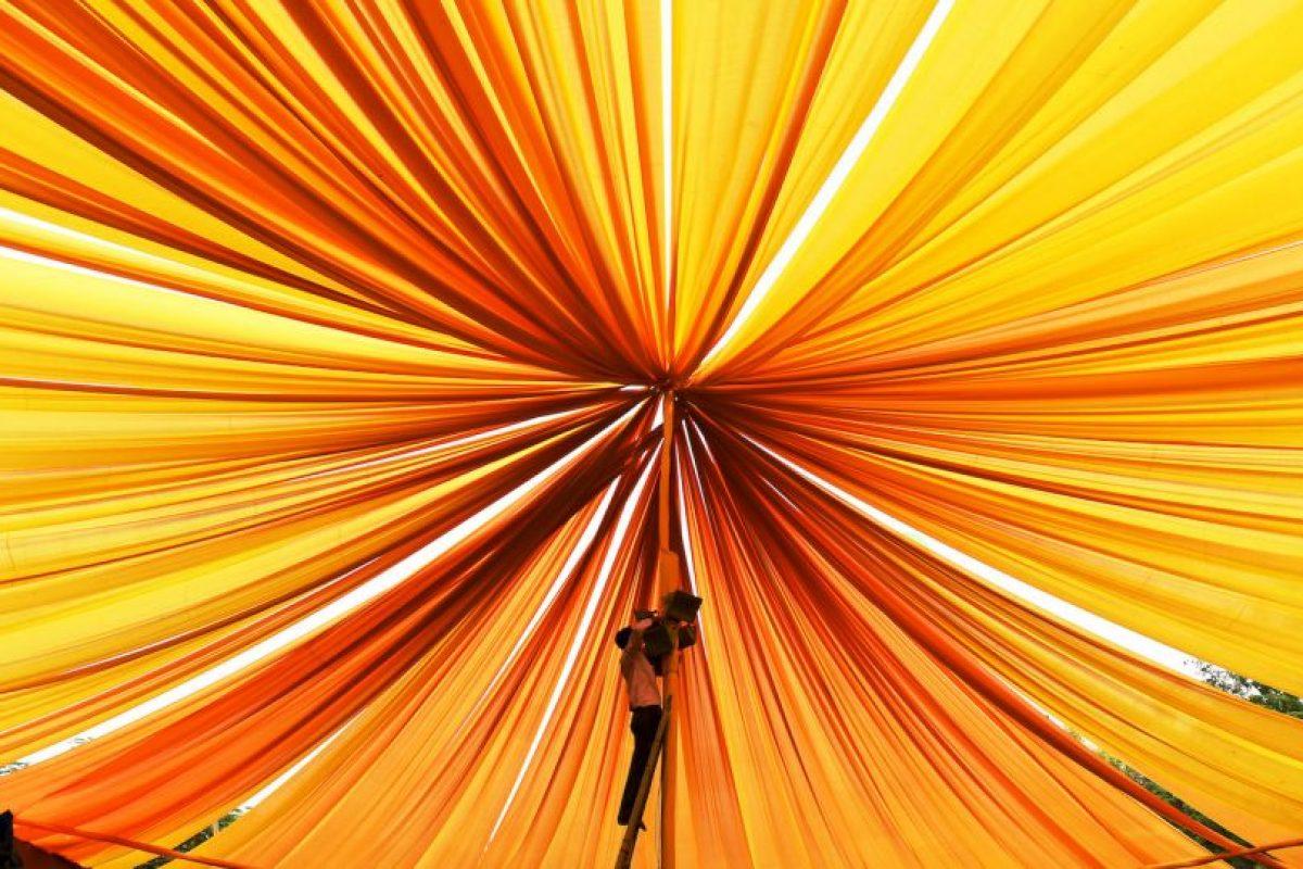 Festival Cultural de la India. Foto:AFP. Imagen Por: