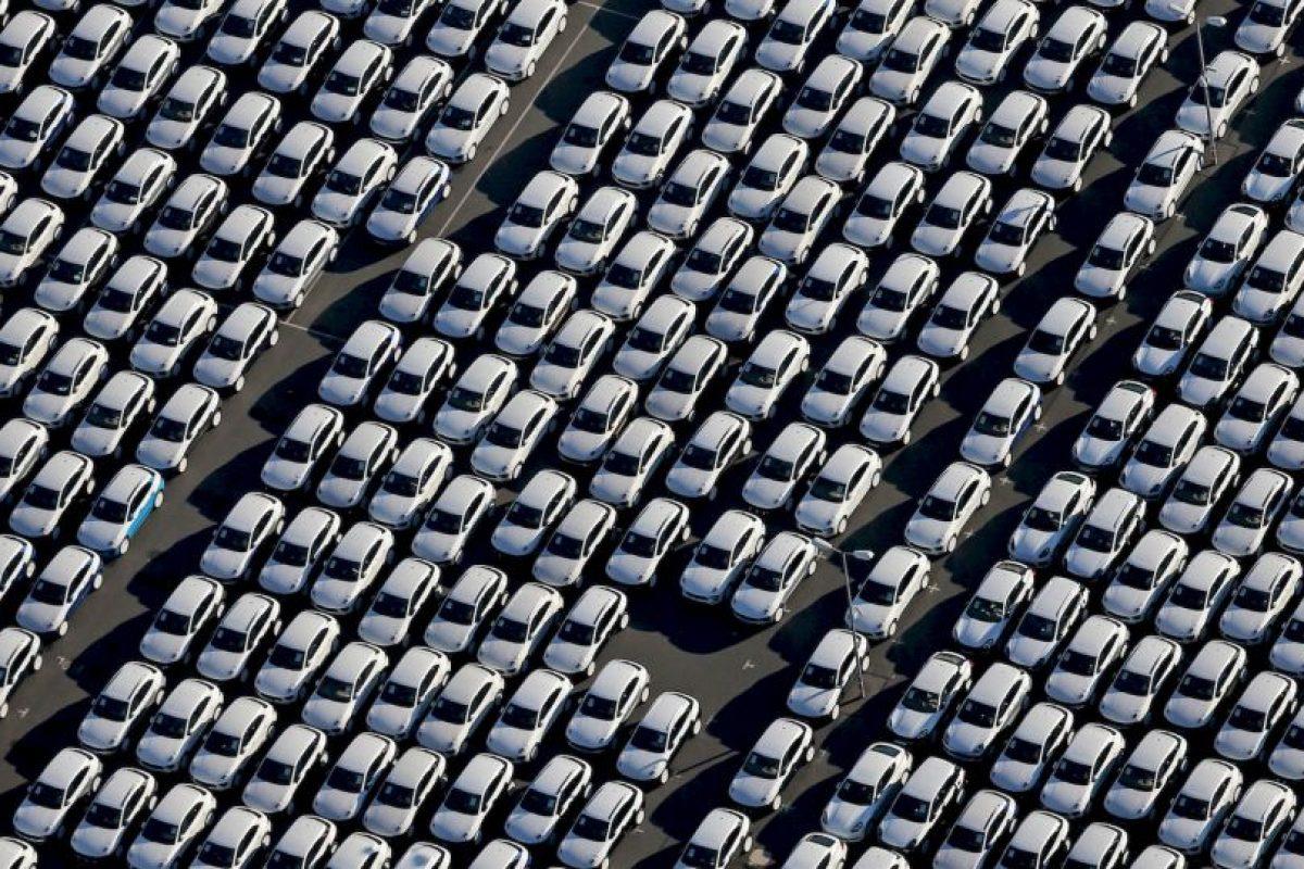 Autos Porsche en fábrica en Alemania. Foto:AFP. Imagen Por: