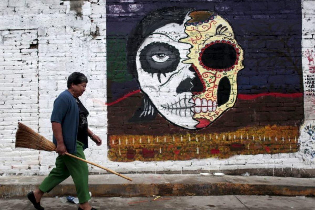 Celebración del Día de Muertos en México. Foto:AFP. Imagen Por: