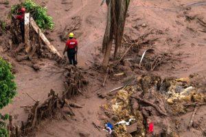 La represa de residuos es conocida como Barragem de Fundão y está a 25 kilómetros del casco urbano de la ciudad de Mariana. Foto:AFP. Imagen Por: