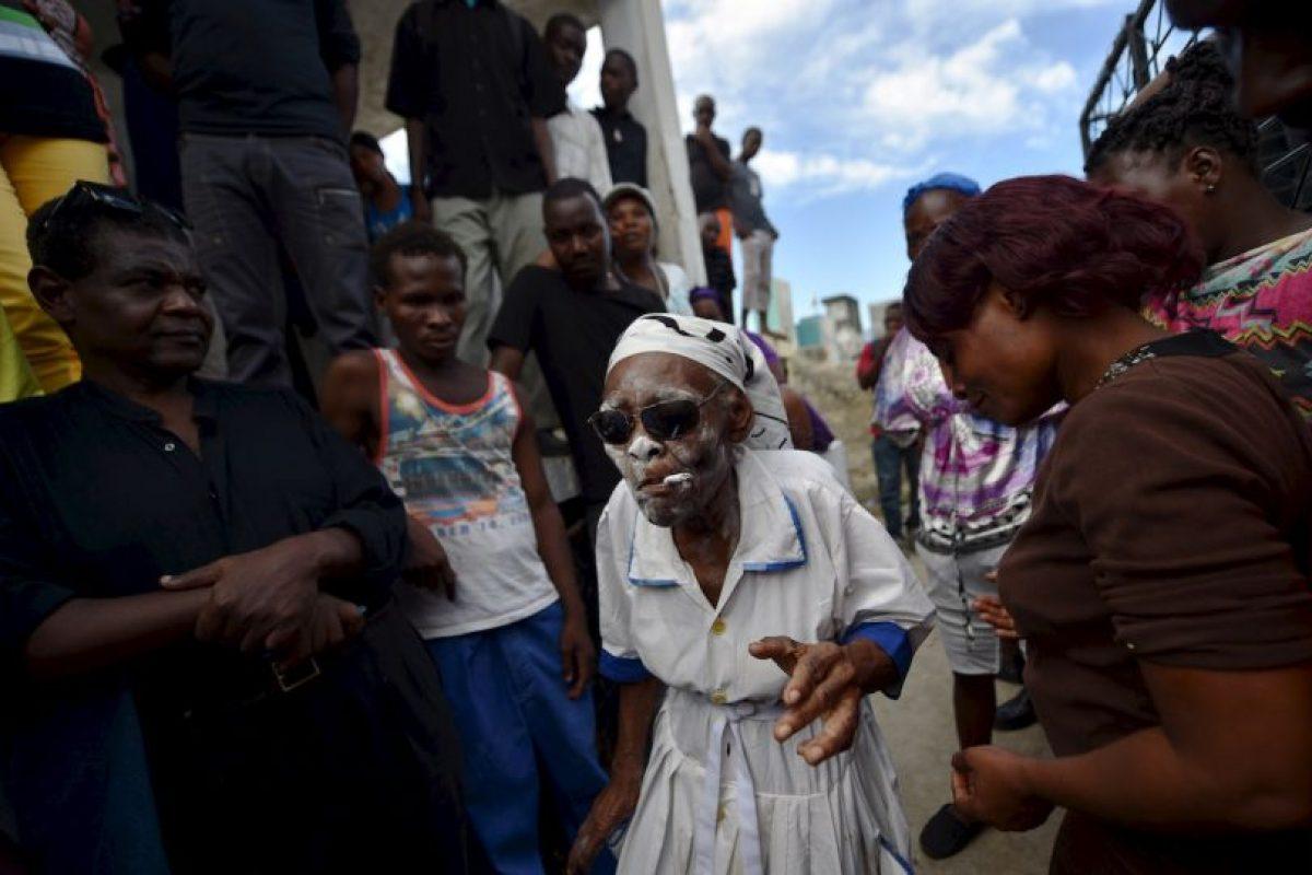 Celebración por el Día de Muertos en Haití. Foto:AFP. Imagen Por: